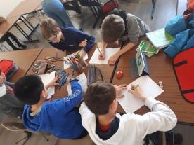 Commission écologie et propreté : atelier dessin autour de l'écologie
